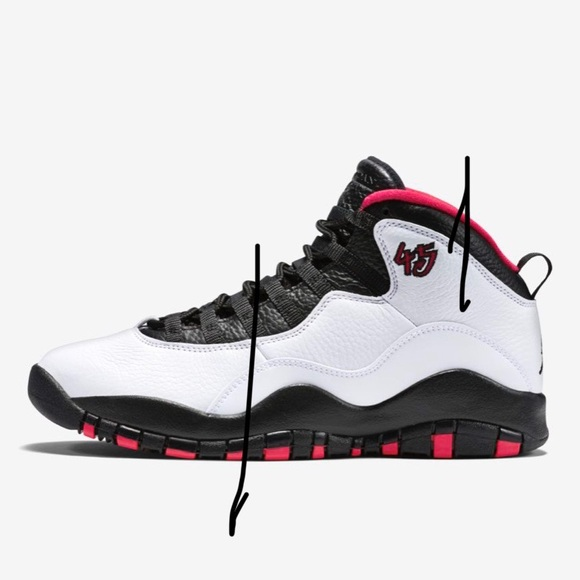 best service 64f3f 1ceff Air Jordan Retro 10 Kids (7C) Red/White/Black
